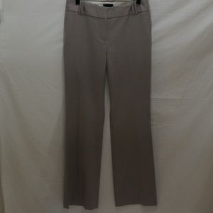 J. Crew Women's Pants Size 2 City Fit Gray Taupe